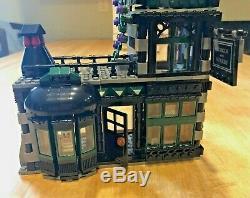 LEGO 10217 Harry Potter Diagon Alley 100% Complete (excellent!)