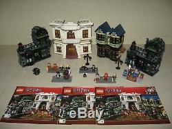 LEGO 10217 Harry Potter Diagon Alley Complete with extra Borgin Burkes Shop