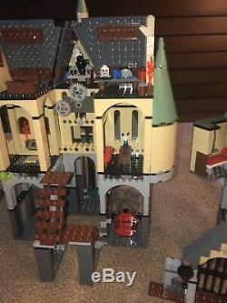 LEGO 4757 Harry Potter HOGWARTS CASTLE 99.9% Complete Except No Minifigures READ