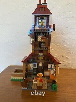 LEGO 4840 Harry Potter the Burrow retired set complete with ALL MINIFIGURES