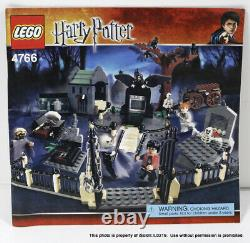 LEGO HARRY POTTER #4766 GRAVEYARD DUAL COMPLETE With UNUSED STICKERS