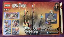LEGO HARRY POTTER SET 4768 DURMSTRANG SHIP 100% COMPLETE With BOX & INSTRUCTIONS