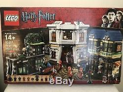 LEGO Harry Potter #10217 Diagon Alley 2025pcs Complete Set withMinifigures & books