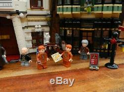 LEGO Harry Potter 10217 Diagon Alley Complete with all Minifigures