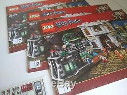 LEGO Harry Potter 10217 Diagon Alley No Box Complete USED EXCELLENT CONDITION