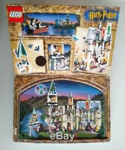 LEGO Harry Potter 4709 Hogwarts Castle 2001 complete with instructions and box