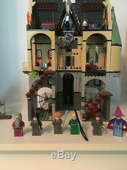 LEGO Harry Potter 4757 Hogwarts Castle Prisoner of Azkaban 98% Complete with Book