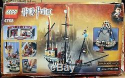 LEGO Harry Potter 4768 Durmstrang Ship Viktor Krum Igor Karkaroff COMPLETE Boxed