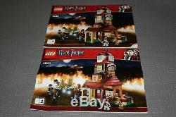 LEGO Harry Potter 4840 The Burrow 100% complete withminifigs & box 2 unopened bags