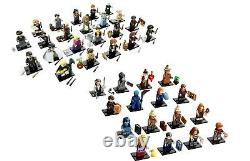 LEGO Harry Potter 71028 71022 Minifigures Series 1 & 2 COMPLETE 38 SEALED NEW