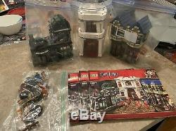 LEGO Harry Potter Diagon Alley 10217 USED complete With Figs And Instructions