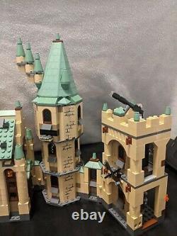LEGO Harry Potter Hogwarts Castle 4842 98% Complete Retired EUC Minifigs