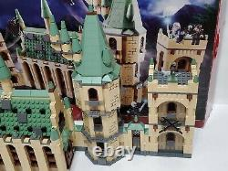 LEGO Harry Potter Hogwarts Castle 4842 Complete withManuals, box and figures