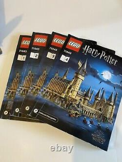 LEGO Harry Potter Hogwarts Castle (71043) 100% Complete With Box