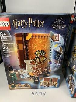 LEGO Harry Potter Hogwarts Moment Complete Set of 4 76382, 76383, 76384, 76385
