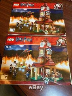 LEGO Harry Potter The Burrow (#4840) 100% Complete With Instructions and Box