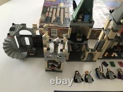 LEGO Harry Potter set 4709 Hogwarts Castle 2001 Manual Box Posters 100% COMPLETE
