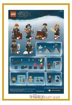 LEGO Minifigures Series 22 Harry Potter/Beasts 71022 Complete Set of 22 Sealed