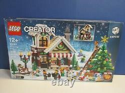 LEGO complete 10249 CREATOR EXPERT WINTER TOY SHOP SET XMAS minifigure BOXED