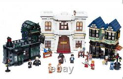 Lego 10217 Harry Potter Diagon Alley COMPLETE with Minifigures & Instructions