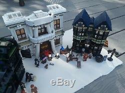 Lego 10217 Harry Potter Diagon Alley Complete Used Set No Box