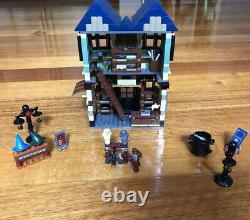 Lego 10217 Harry Potter Diagon Alley In Original Box Complete Set