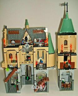 Lego 4757 Harry Potter Hogwarts Castle 9 Minifigures Instructions Complete