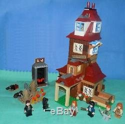 Lego 4840 Harry Potter The Burrow 100% Complete No Bellatrix No Ins No Box