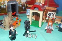 Lego 4840 Harry Potter The Burrow 100% Complete, No Box