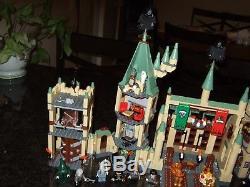 Lego #4842 & #4867 Hogwarts Castle 100% Complete withmanuals, mini figures & Bonus