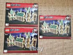 Lego 4842 Harry Potter Hogwarts Castle Complete with Minifigs & Instructions