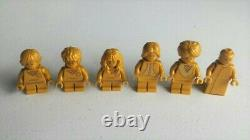 Lego Complete Set 20th Anniversary Golden Harry Potter Minifigures Brand New