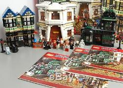 Lego Harry Potter 10217 Diagon Alley Complete With Instructions No Box