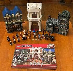 Lego Harry Potter 10217 Diagon Alley and 4840 The Burrow 100% Complete