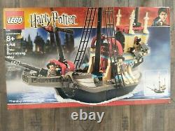 Lego Harry Potter 4768 The Durmstrang Ship 99% complete with Box & Manual