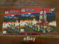 Lego Harry Potter 4840 The Burrow Complete with Instructions
