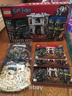 Lego Harry Potter Diagon Alley (10217) 100% Complete with Box Pre-Owned