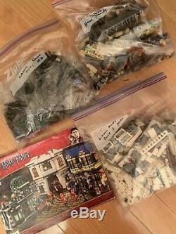 Lego Harry Potter Diagon Alley (10217) Complete with Minifigs & Manual (NO BOX)
