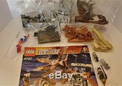 Lego Harry Potter Goblet of Fire Harry and the Hungarian Horntail 4767 Complete