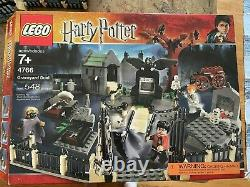 Lego Harry Potter Graveyard Duel 100% Complete with Instructions and Box