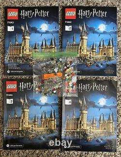 Lego Harry Potter Hogwarts Castle 71043 100% Complete Just Built
