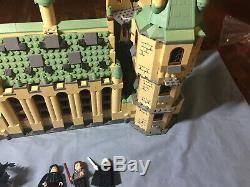 Lego Harry Potter Hogwarts Castle 99% Complete All Minifigures No Manuals 4842