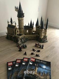 Lego Harry Potter Hogwarts Castle Set (71043) 100%complete with all figures