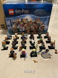 Lego Harry Potter Minifigures Series 1 100% Complete Full Box Of 60 Minifigures