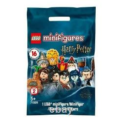 Lego Harry Potter Series 2 Minifigures Full Complete Sealed Box Of 60 71028