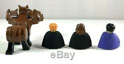 Lego Harry Potter Set 4706 Forbidden Corridor Complete with 3 Minifigs & Fluffy