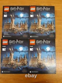 Lego Harry Potter Set 71043 Hogwarts Castle 100% Complete