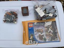 Lego Harry Potter Shrieking Shack 4756- 100% Complete! RARE Retired Set No Box