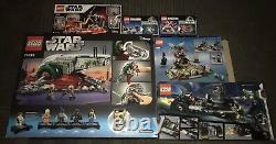 Lego Star Wars, Harry Potter, Batman Complete Sets Lot Like N E W