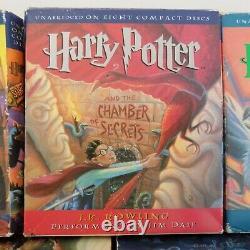 Lot 7 Harry Potter Complete Set Audiobooks CD 1-7 by JK Rowling & Jim Dale